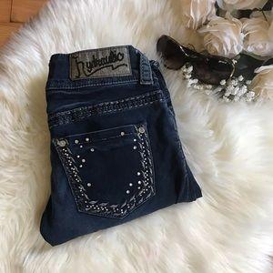 Hydraulic skinny jeans size 27